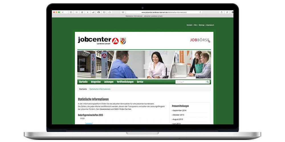 Website Spezial Angebot Für Jobcenter Günstig Und Effektiv