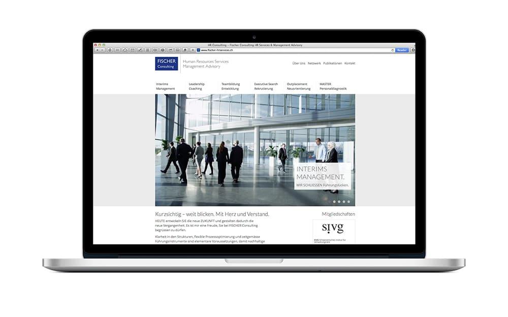 Webdesign für HR
