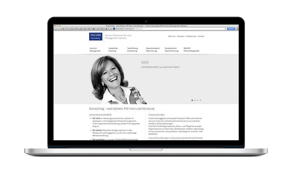 Website Template für HR