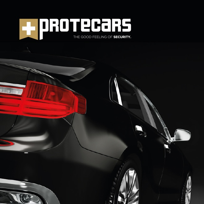 Corporate Design Konzept Protecars