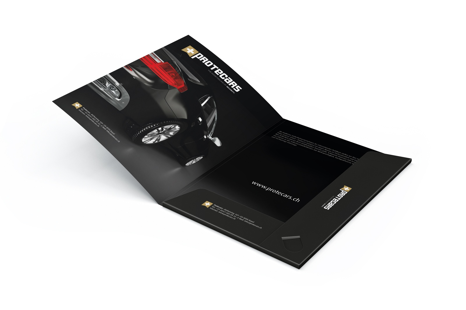 corporate design folder