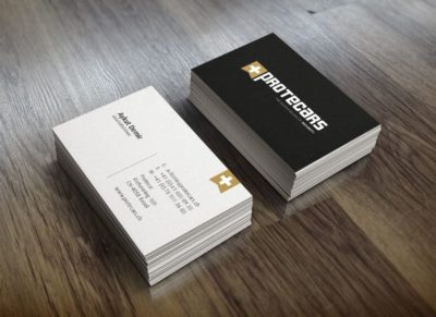 Business Card Mockup 1