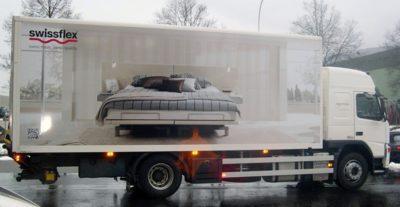Fahrzeugbeschriftung Volvo Beispiel