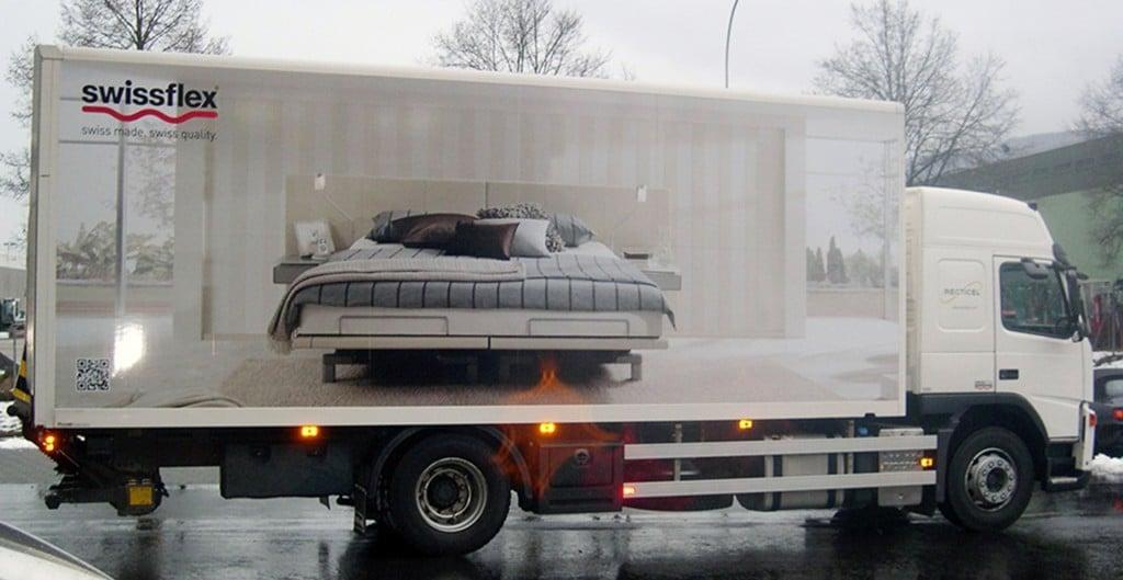 Volvo Fahrzeugbeschriftung