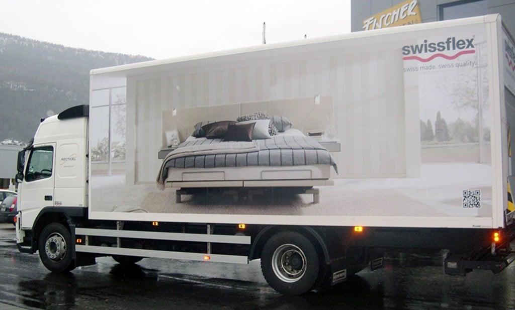 Volvo LKW Fahrzeugbeschriftung