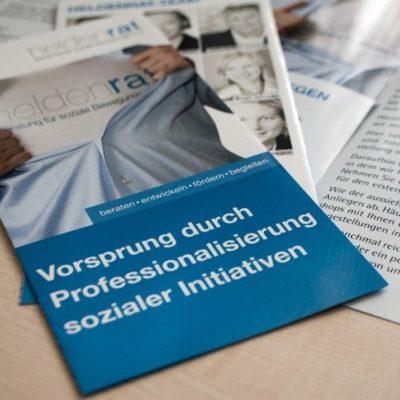 Faltblatt Heldenrat e.V.