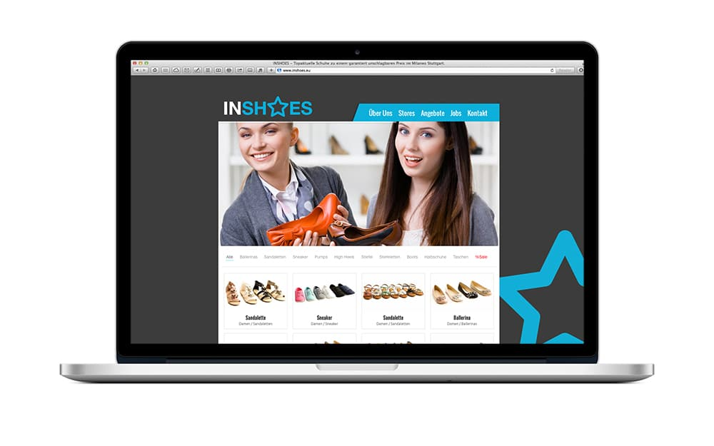 WordPress Theme Schuhe