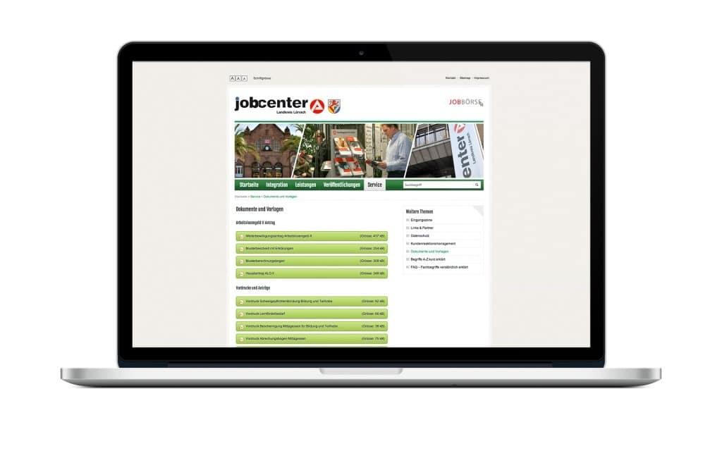 WordPress Theme Jobcenter