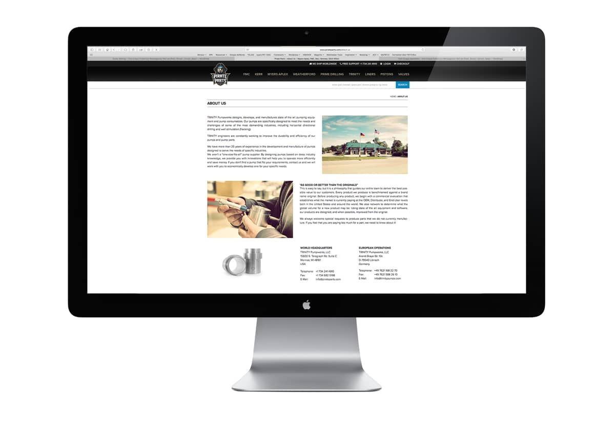 B2B Basel Webshop Beispiel