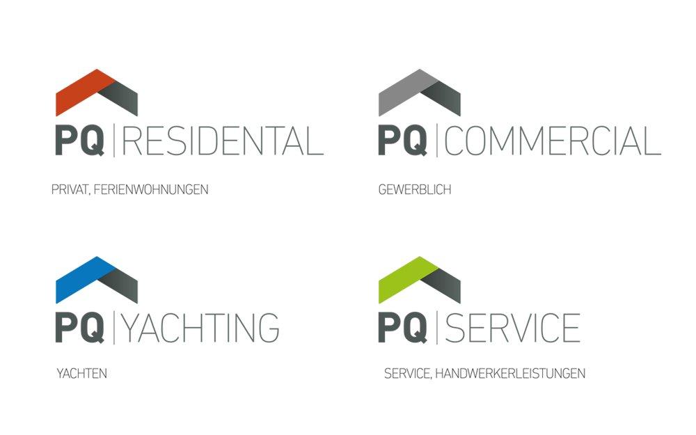 logodesign immobilienmakler arts unique werbeagentur. Black Bedroom Furniture Sets. Home Design Ideas
