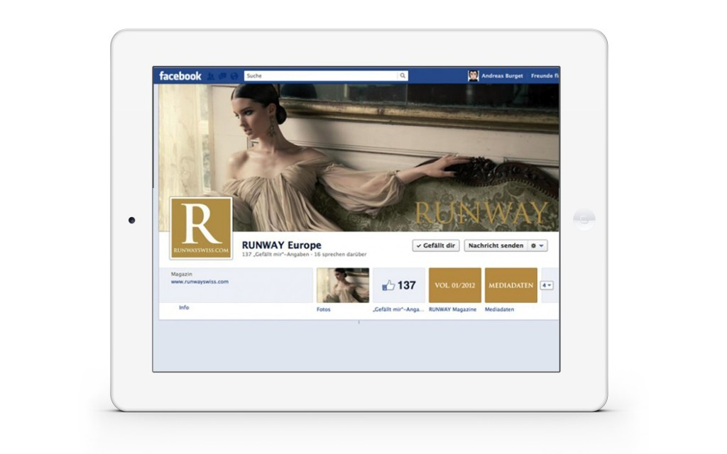 Social Media Fanpage App Basel Lörrach