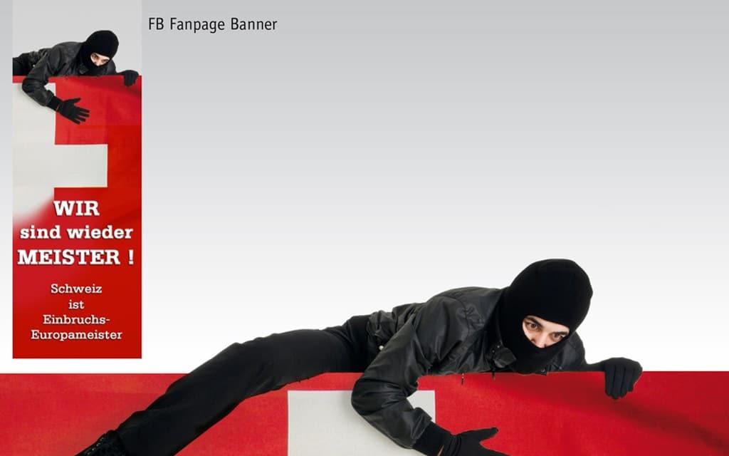 Security Dienstleister Fanpage Beispiel