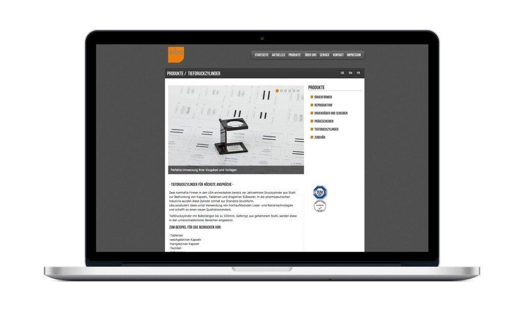 Webdesign Beispiel Lörrach