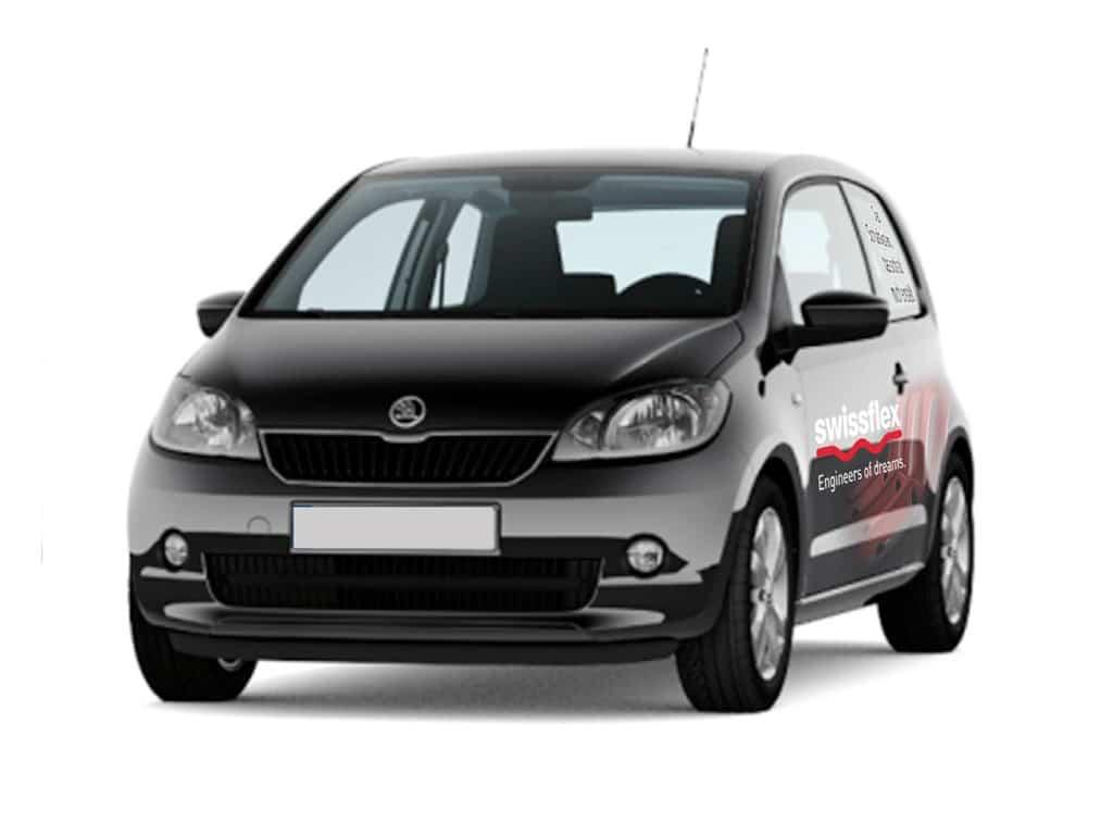 Skoda Fahrzeugbeschriftung