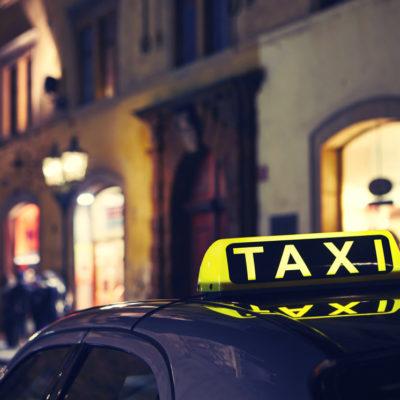 Taxi Landingpage