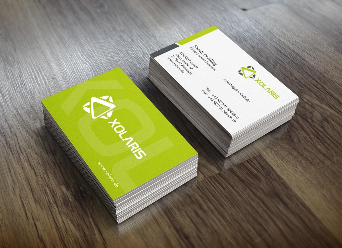 Visitenkarten Design und Druck Konstanz