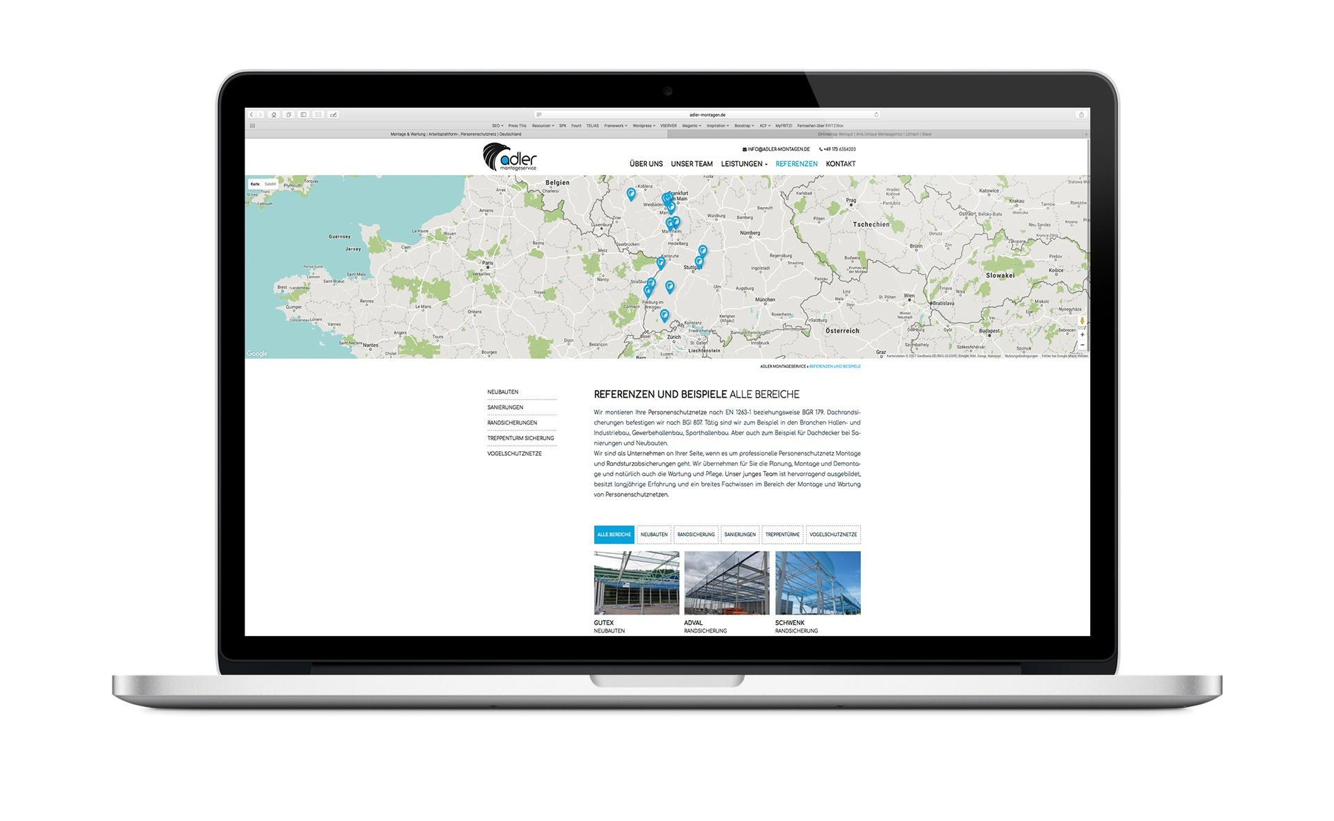 Webdesign Beispiel Rheinfelden