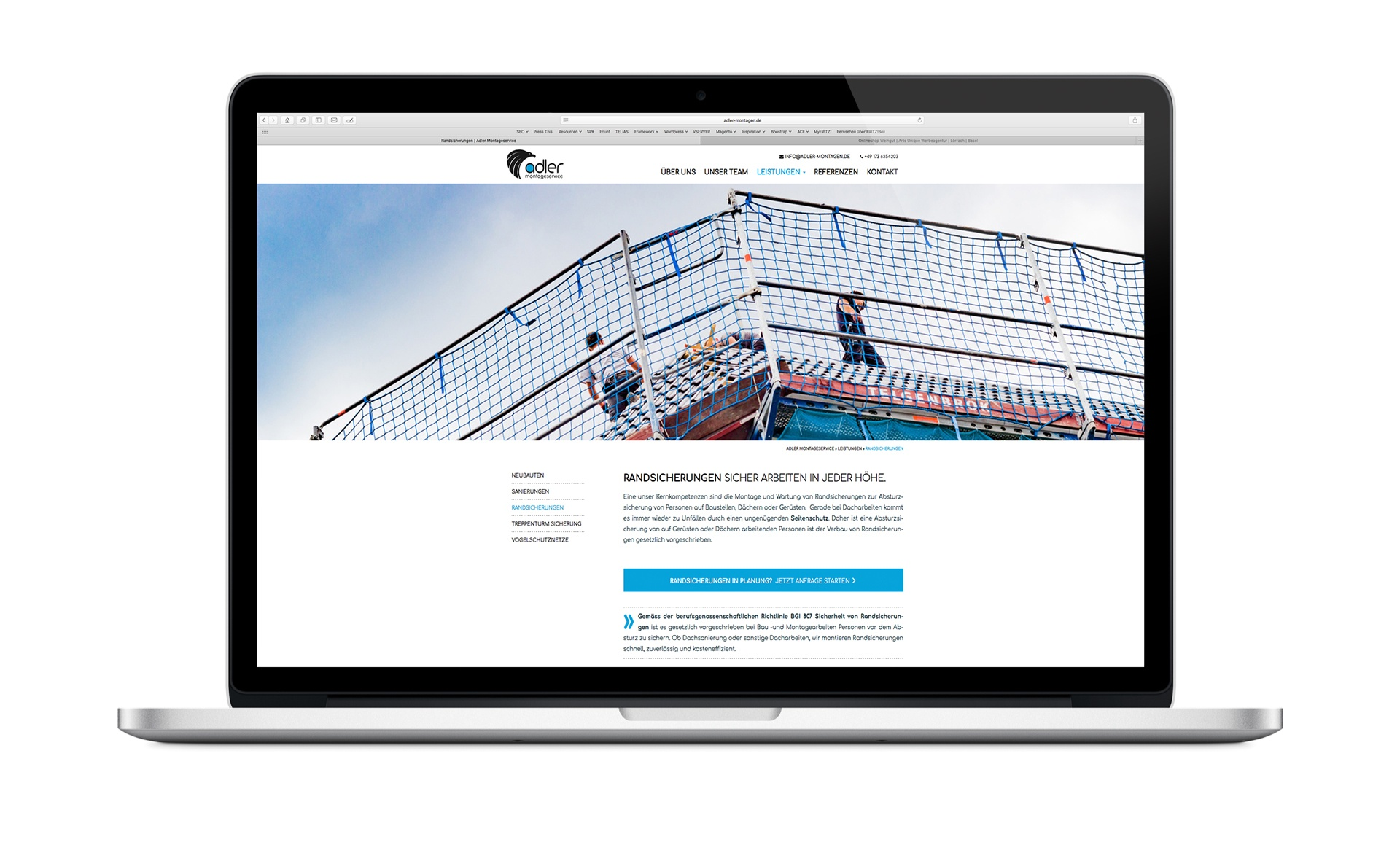 WordPress Theme Rheinfelden