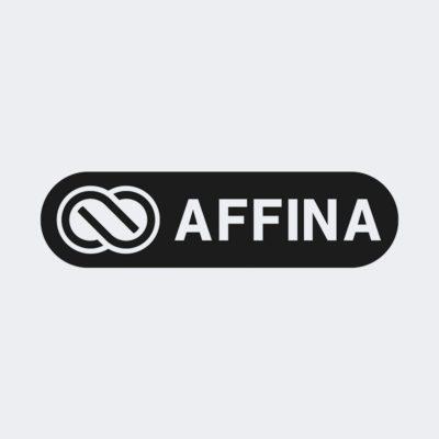logo negativ affina
