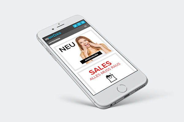 webshop magento mobile