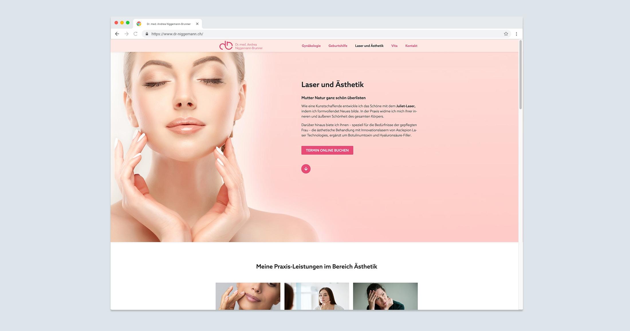 webdesign gynakologe